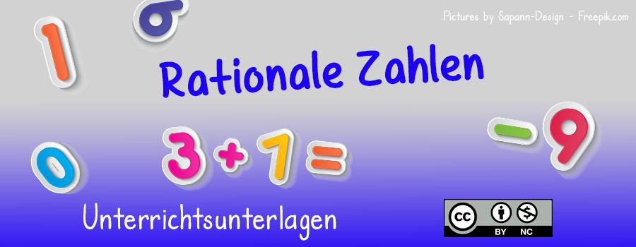Arbeitsblatt: Rationale Zahlen - neuhold.pro